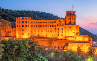 Schloss in Heidelberg - Highlight der Stadtführung