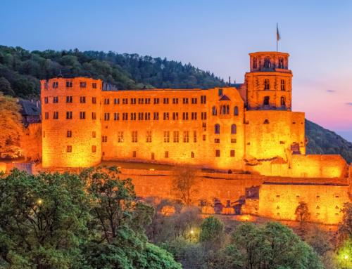 Stadtführungen durch Heidelberg in Sichtweite der Schlossruine